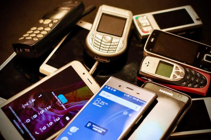Mobiltelefone im Wandel
